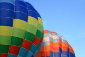 Vibrant hot air balloons — Stock Photo