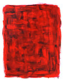 Red and black abstract oil painting — Stock Photo