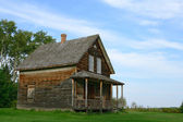 Old wooden country house — Stock Photo