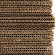 Close-up of stacked corrugated cardboard — Stock Photo
