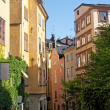 Old street in the center of Stockholm — Stock Photo #21981223