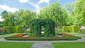 Beautiful ornamental garden — Stock Photo