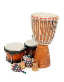 Percussion music instruments — Stock Photo