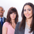 Multicultural business team — Stock Photo
