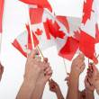 Happy Canada Day! - Stock Photo