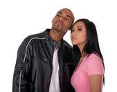 未来に見て若いカップル — ストック写真
