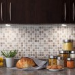 Food ingredients in a kitchen with cozy lighting — ストック写真
