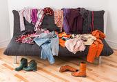 Was sie anziehen? — Stockfoto