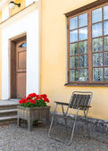 Classic Scandinavian architecture — Stock Photo
