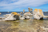 Limestone formations in the Baltic Sea — Stock Photo