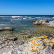 Rocky coastline of Sweden — Stock Photo