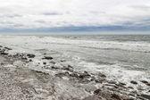 Rocky coast of a Nordic sea — Stock Photo