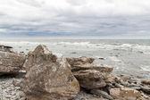 Rocky coast of Gotland, Sweden — Stock Photo
