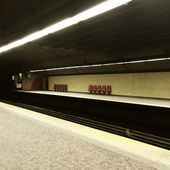 Subway station in Montreal — Stock Photo