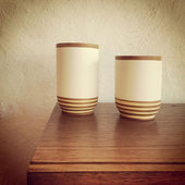 Ceramic vases decor — Photo