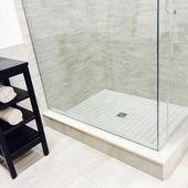 New modern shower — ストック写真