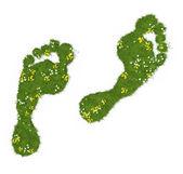 Ślad ekologiczny — Zdjęcie stockowe