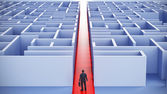 LEADERSHIP AND BUSINESS VISION — Stock Photo