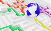 International cooperation concept. — Stock Photo