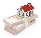 House Mortgage - pounds — Stock Photo