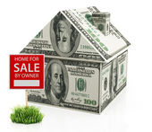 Home for sale — Stock Photo