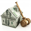 Stock Photo: Real estate auction