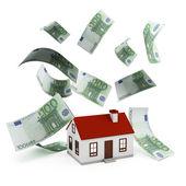 House Mortgage euro — Stock Photo