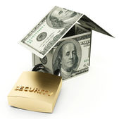 Secure house — Stock Photo