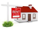 Home for rent — Stock Photo