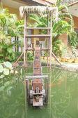 Roda d'água — Fotografia Stock