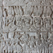 Sculptural walls of Angkor Wat — Stock Photo #37498187
