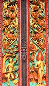 Buddha-figuren und engel — Stockfoto