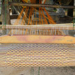 Stock Photo: Loom for weaving mats