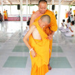 Stock Photo: Young monk being ordinated