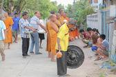 El mérito de los monjes — Foto de Stock