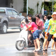Songkran Festival in Thailand — Stock Photo #38042087