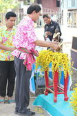 Songkran festival en Thaïlande — Photo