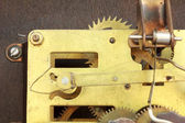 Clock mechanism — Foto de Stock