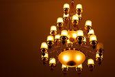 Ceiling light beautiful shape — Stock Photo