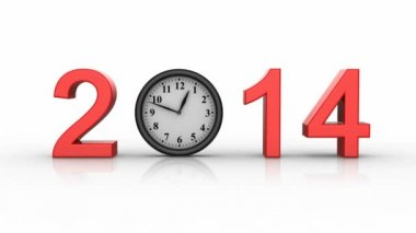 New Year 2014 — Stock Video