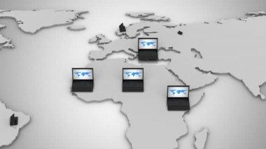 Computer Network — Stock Video