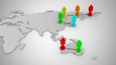 社会的ネットワーク — ストックビデオ