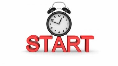 Start — Stock Video
