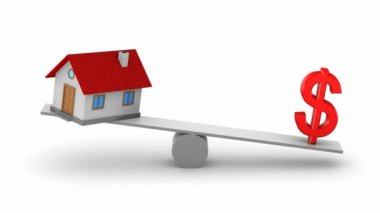 Change in real estate prices — Stockvideo