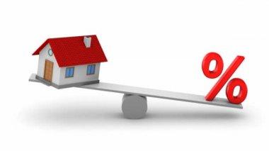 Mutuo ipotecario — Video Stock