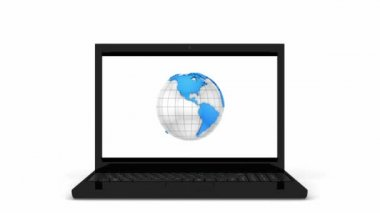 Wereldwijde communicatie — Stockvideo