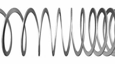 Slinky Toy — Stock Video