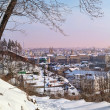 View of Prague in winter — Stock Photo