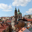 St Nicholas church in Prague — Stock Photo