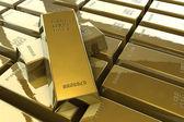Gold bars — Stock Photo